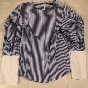 Tops - Stripe me down shirt!